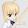 Fate/stay night セイバー1